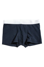 3-pack trunks - Blue - Men | H&M 3