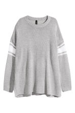 Knitted jumper - Light grey marl - Ladies | H&M 2