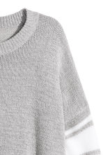 Knitted jumper - Light grey marl - Ladies | H&M 3
