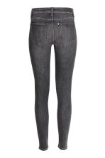 Skinny Regular Jeans - Black denim - Ladies | H&M 3