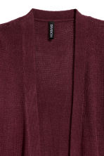 Cardigan in maglia - Bordeaux - DONNA | H&M IT 3