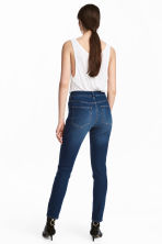 Skinny High Ankle Jeans - Dark denim blue - Ladies | H&M 4