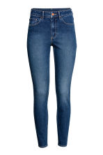 Skinny High Ankle Jeans - Donker denimblauw - DAMES | H&M BE 2
