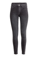 Skinny High Ankle Jeans - Dark grey denim - Ladies | H&M CA 2