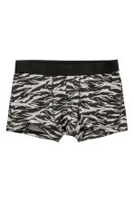 3-pack trunks - Burgundy/Patterned - Men | H&M 3