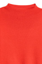 Fine-knit jumper - Bright red - Ladies | H&M 3