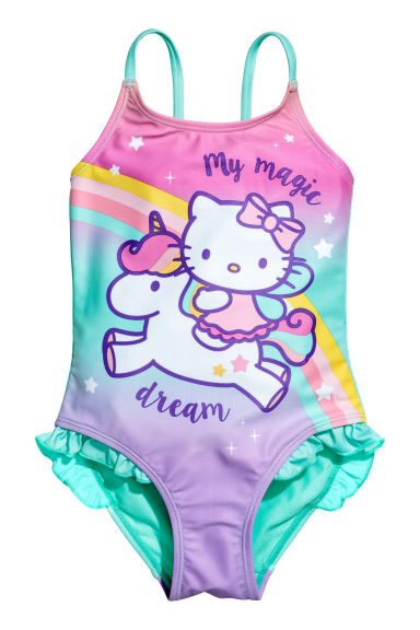 Uimapuku - Turkoosi/Hello Kitty - Kids | H&M FI 1