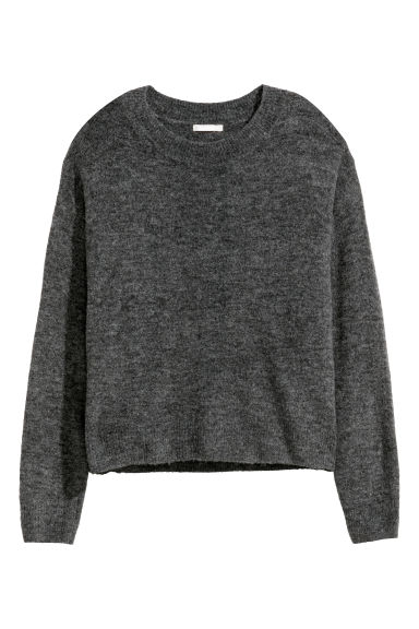 Fine-knit jumper - Grey -  | H&M GB