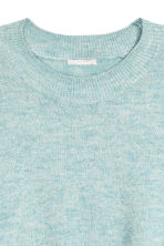 Fine-knit jumper - Light blue - Ladies | H&M CN 2