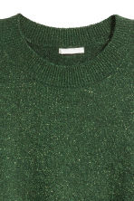 Fine-knit jumper - Green - Ladies | H&M CN 2