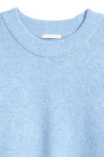 Fine-knit jumper - Light blue marl - Ladies | H&M IE 3