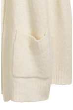 Knitted cardigan - Natural white - Ladies | H&M CN 3