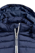 Padded jacket - Dark blue - Kids | H&M CN 4