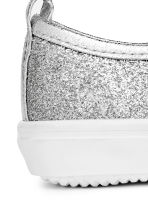 Glittery slip-on trainers - Silver -  | H&M 5