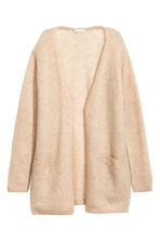 Cardigan in misto mohair - Beige chiaro -  | H&M IT 2