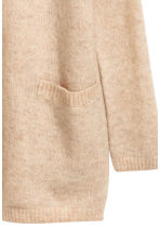 Cardigan in misto mohair - Beige chiaro -  | H&M IT 3