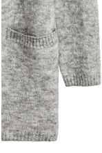 Mohair-blend cardigan - Grey marl - Ladies | H&M CA 3