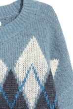 Knitted jumper - Light blue - Ladies | H&M IE 3