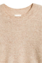 Loose-knit jumper - Camel - Ladies | H&M GB 3