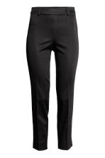 Tailored trousers - Black - Ladies | H&M CA 2