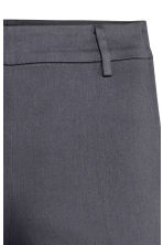 Tailored trousers - Dark grey-blue - Ladies | H&M CN 6