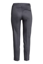Tailored trousers - Dark grey-blue - Ladies | H&M CN 3