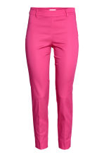 Tailored trousers - Cerise - Ladies | H&M CA 2