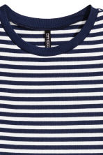 羅紋洋裝 - Blue/Striped - Ladies | H&M 3