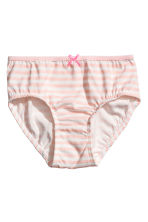 5-pack briefs - Pink - Kids | H&M CN 2