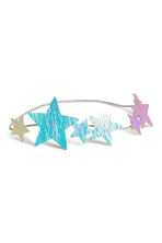 Hairband with stars - Silver/Stars - Kids | H&M CN 2