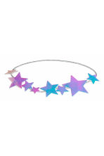 Hairband with stars - Silver/Stars - Kids | H&M CN 1