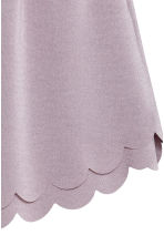 Scallop-hem shorts - Heather purple - Ladies | H&M 3