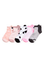 5-pack ankle socks - White - Kids | H&M 2