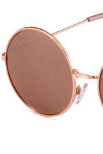 Round sunglasses - Rose gold -  | H&M 3