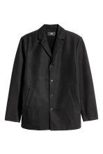 Cotton-blend jacket - Black - Men | H&M 2