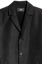 Cotton-blend jacket - Black - Men | H&M 4