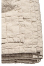 Washed linen bedspread - Linen beige - Home All | H&M CA 3