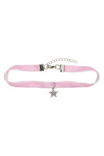 Choker with a pendant - Lilac - Kids | H&M CN 1