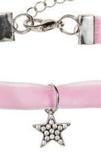 Choker with a pendant - Lilac - Kids | H&M CN 2