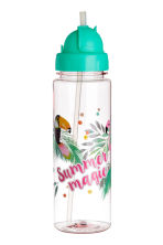 Water bottle - Mint green/Parrot - Kids | H&M CN 2