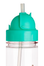 Water bottle - Mint green/Parrot -  | H&M 3