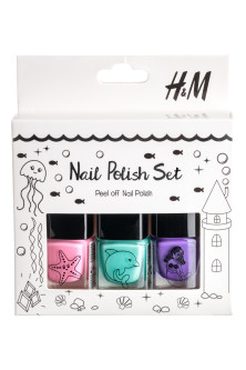 3-pack nail polish set