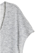 Lyocell V-neck top - Grey marl - Ladies | H&M CA 3