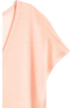 Lyocell V-neck top - Light apricot - Ladies | H&M 3