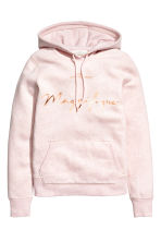 連帽上衣 - Light pink marl - Ladies | H&M 1