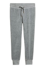 Velour joggers - Grey - Ladies | H&M CN 2