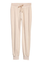 Velours joggers - Gebroken wit - DAMES | H&M BE 2