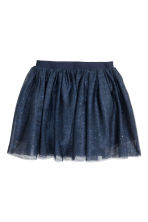 Gonna in tulle - Blu scuro - BAMBINO | H&M IT 1