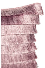 Tiered-fringe cushion cover - Powder pink - Home All | H&M CN 2