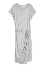 Wrap dress - Grey marl - Ladies | H&M 2